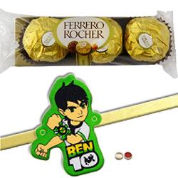 Amiable Kid Rakhi N Ferrero Rochers