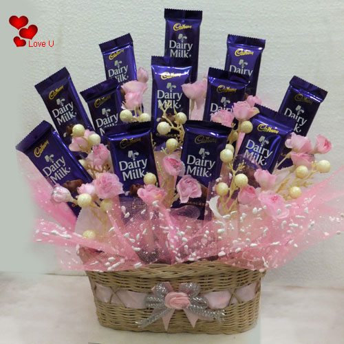 Book Chocolates Gift Set for Chocolate Day