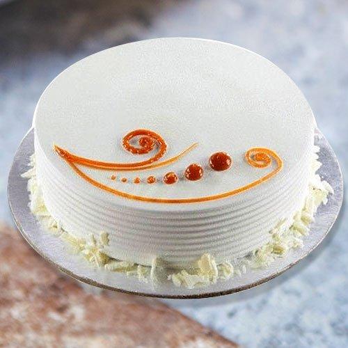 Mouth Watering 1 Lb Vanilla Cake