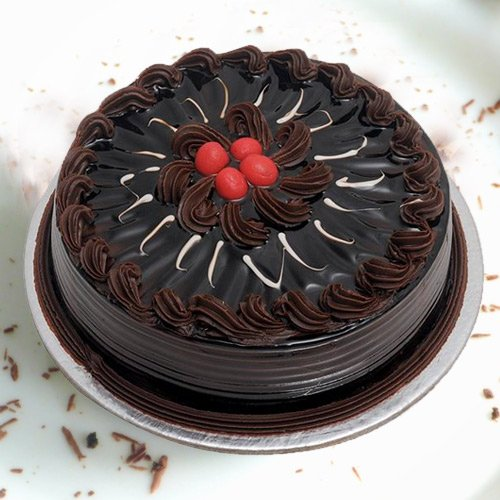 Graceful 1 Lb Chocolate Truffle Cake from 3/4 Star Bakery