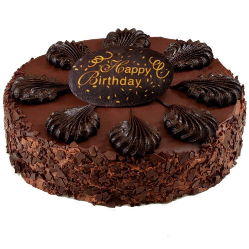 Endless Happiness 2.2 Lb Birthday Cake Chocolate Cake from 3/4 Star Bakery