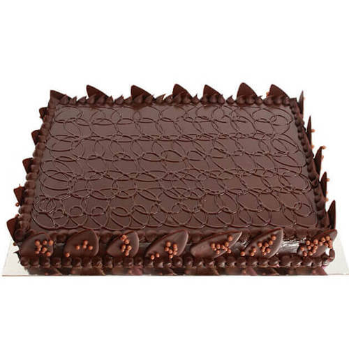 Fresh-Baked Chocolate Cake