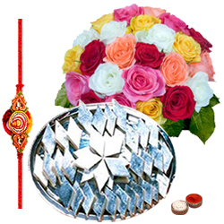 Attractive Rakhi with Gifts