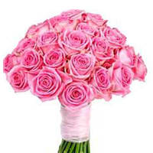 Distinctive Floral Assortment of 30 Pink Roses