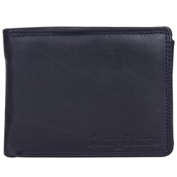 Exclusive Longhorn Gents Leather Wallet in Black and Red Colour