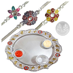 Splendid Aarti Thali Gift Collection
