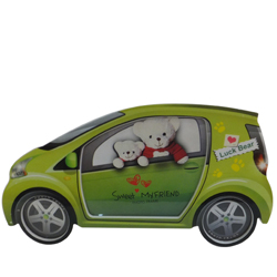 Lucky Bear Inscribed Car Picture Stand