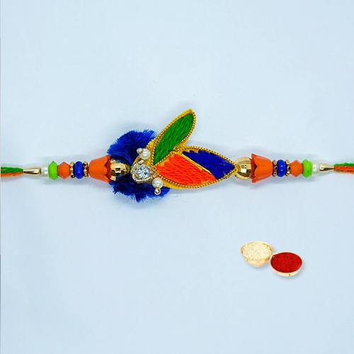 Appealing Rakhi Thread with Full of Prosperity