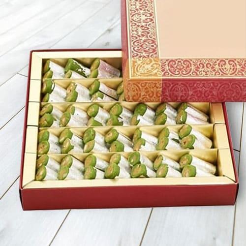 Kaju Pista Rolls from Haldiram