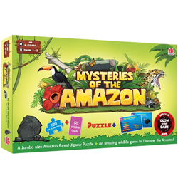 Popular Madzzle Mysteries of the Amazon Manufactured by MadRat Games
