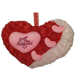 Endearing 'Cute Heart' Hassock