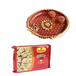 Diwali Thali with Sweets