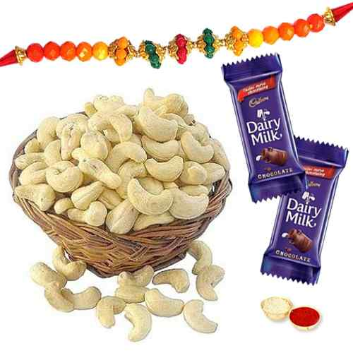 Packed with Happiness Rakhi Gift Combo