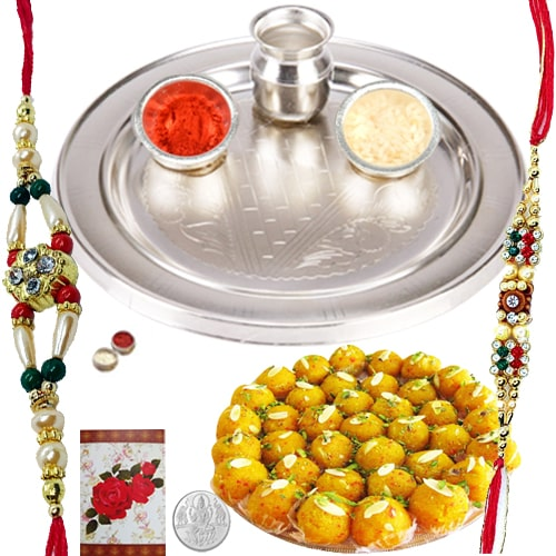 Exciting Rakhi Gift with Blessings