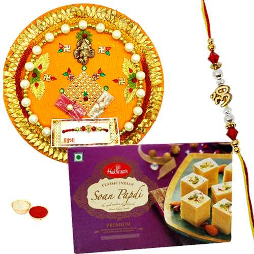 Classic Rakhi Gift with Blessings