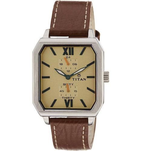 Alluring Gents Wrist Watch from Titan
