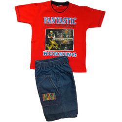 Red Babywear for Boy.(2 year - 4 year)