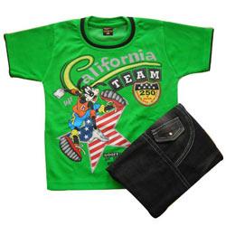 Green Kidswear for Boy.(4 year - 6 year)