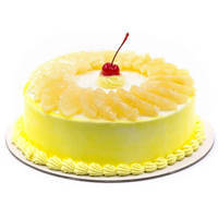 Appetizing Pineapple Cake from <font color=#FF0000><strong>Taj or 5 Star Hotel</strong></font> bakery to Maurya Enclave Po