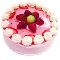 Appetizing Strawberry Cake