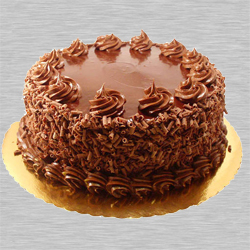 Mouth-watering Eggless Chocolate Cake to H S Sangh