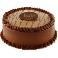 Lavish Chocolate Flavor Eggless Cake to Dada Ghosh Bhawan