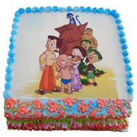Mouth-Watering Spectacle 2.5 Kg Chota Bheem Cake