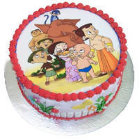 Palate-of-Dreams Chota Bheem Cake