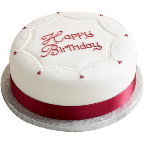 Deliver Birthday Vanilla Cake Online