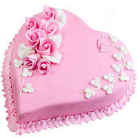 Scrumptious 2.2 Lbs Love Cake from 3/4 Star Bakery