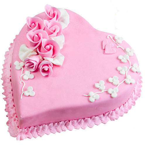 Send Online Love Cake from 3/4 Star Bakery