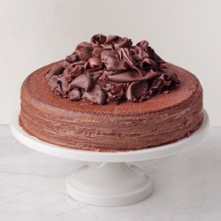 Flavor of Celebration 2.2 Lbs Chocolate Truffle Cake from 3/4 Star Bakery