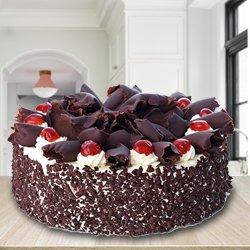 Gratifying 2.2 Lb Black Forest Cake from 3/4 Star Bakery