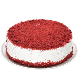 Send Online Red Velvet Eggless Cake
