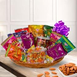 Assorted Snacks Hamper with Celebration Spirit