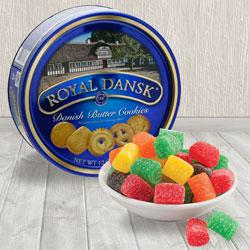 Cloying Christmas Jelly N Danish Cookies