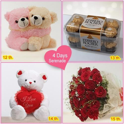 Lovely 4 Day Serenade Hamper Online