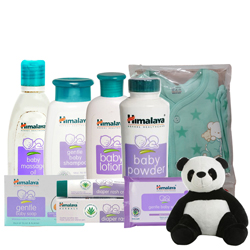 Classic New Born Baby Care Hamper from Himalaya