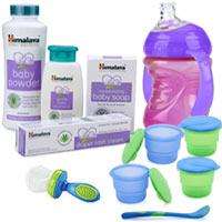 Charismatic Himalaya Baby Care Gift Arrangement