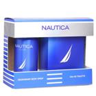 Refreshing Gents Nautica Blue Set