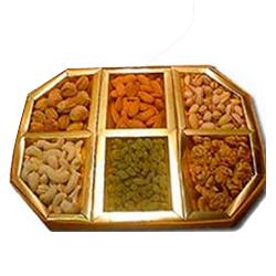 Mixed Dry Fruits 1 Kg.(Gross Weight) (Almond, Raisin, Khurmani, Cashew)