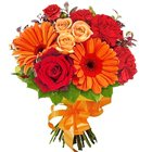 Beautiful Bouquet of Seasonal Flowers to Nathupura