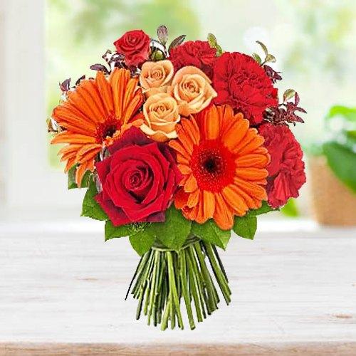 Send Online Bouquet of Seasonal Flowers