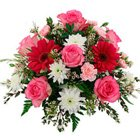 Assorted Flowers Bouquet to Maurya Enclave Po