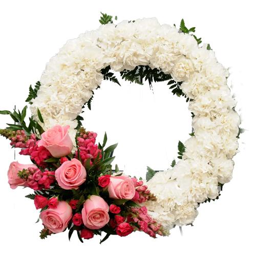 Order Roses Wreath Online
