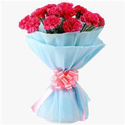 Cherished Bundle of Pink Carnations
