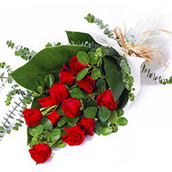 Order Bouquet of Red Roses Online
