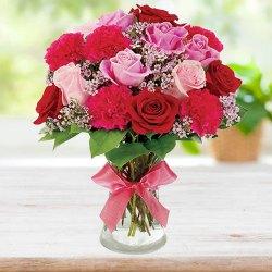Embracing Pureness Flower Arrangement