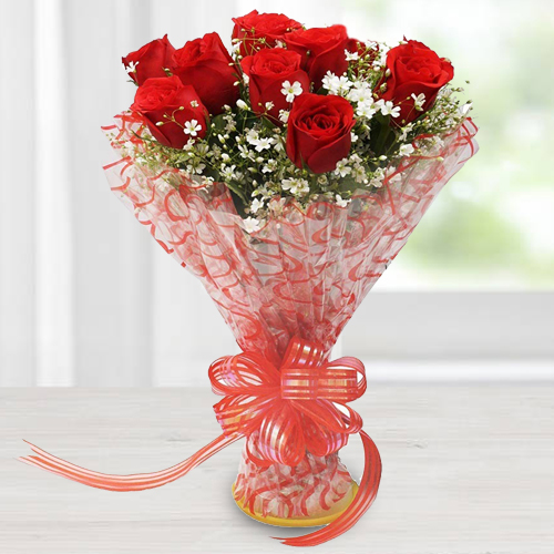 Gift Online Bouquet of Red Roses
