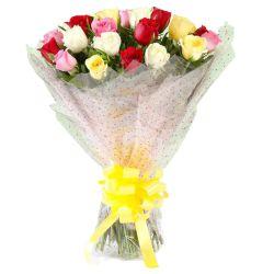 Elegant Assortment of Mixed Roses